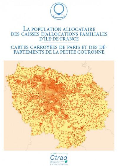 La population allocataire des caisses d'allocations familiales d'Île-de-France au 31 décembre 2019 (Carroyage)