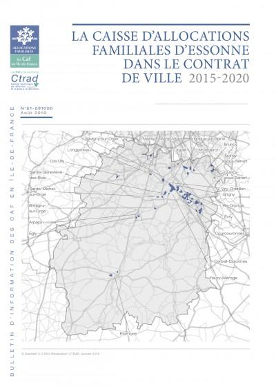 BI-51-91 LA CAISSE D'ALLOCATIONS FAMILIALES D'ESSONNE DANS LE CONTRAT DE VILLE 2015-2020