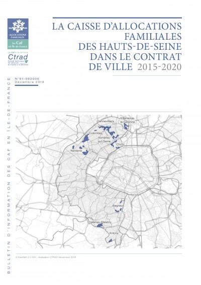 BI-51-92 LA CAISSE D'ALLOCATIONS FAMILIALES DES HAUTS-DE-SEINE DANS LE CONTRAT DE VILLE 2015-2020
