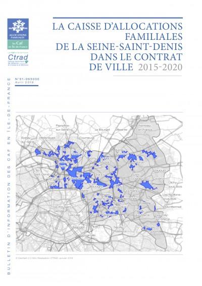 BI-51-93 LA CAISSE D'ALLOCATIONS FAMILIALES DE LA SEINE-SAINT-DENIS DANS LE CONTRAT DE VILLE 2015-2020