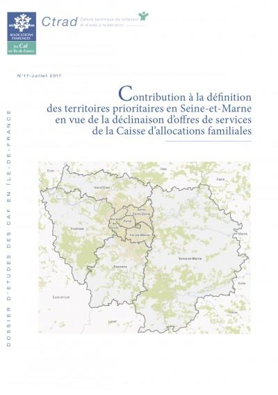 DE-17 Contribution à la définition des territoires prioritaires en Seine-et-Marne en vue de la déclinaison d'offres de services de la Caisse d'allocations familiales